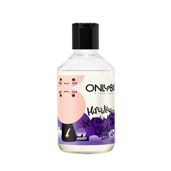 Żel do mycia ciała dla dzieci hipoalergiczny 250 ml OnlyBio