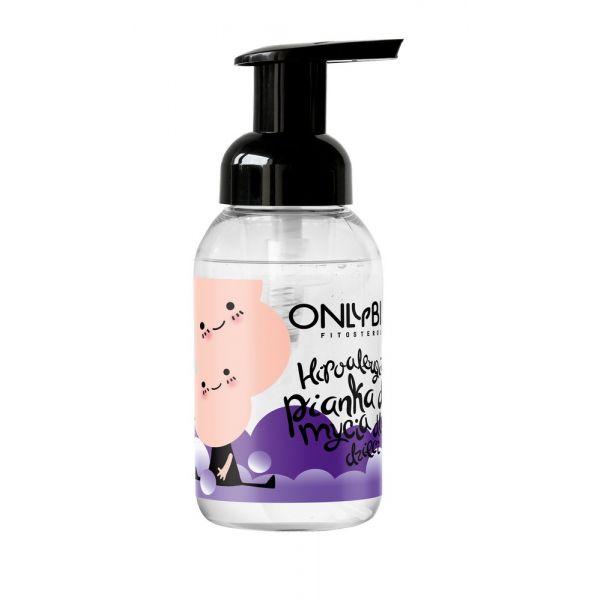 Pianka do mycia dla dzieci od pierwszego dnia życia hipoalergiczna 250 ml OnlyBio